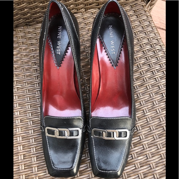 Nine West Shoes - NWOT Nine West Black Leather Shoes Size 9